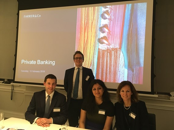 Farrer & Co | Financial Services Seminar: Private Banks