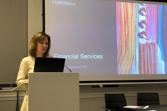 Farrer & Co | Financial services seminar: enforcement actions, and Brexit