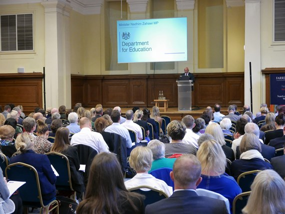 Farrer & Co | Minister Nadhim Zahawi MP speaks at The Annual Safeguarding Conference 2018