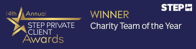 STEP charity team of the year